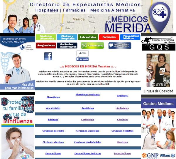 Médicos en Mérida
