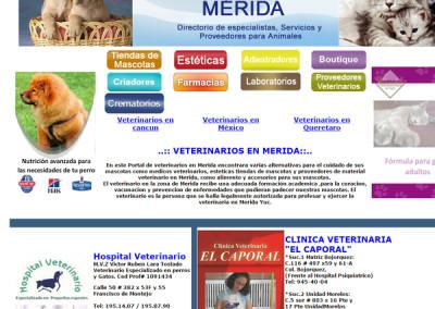 Veterinarios en Mérida