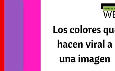 Rojo, rosa y violeta: los colores que hacen viral a una imagen