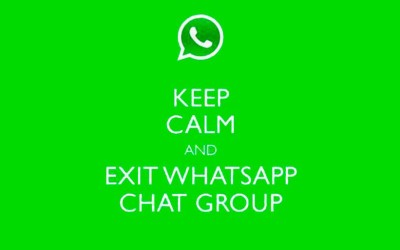 El arte de dejar un grupo de WhatsApp sin salir lastimado