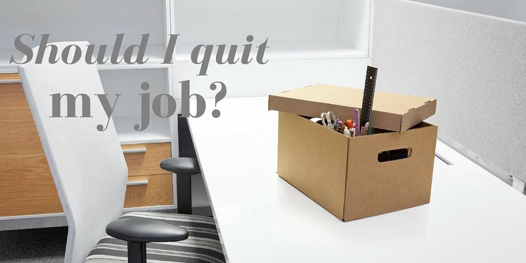 """Sitio del día: """"Should I quit my job?"""", ¿deberías renunciar?"""