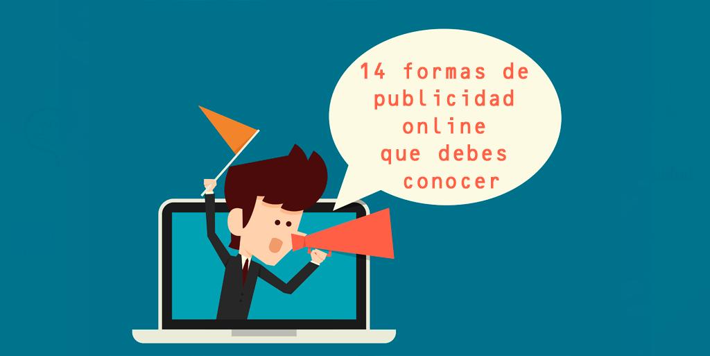 14 formas de publicidad online que debes conocer