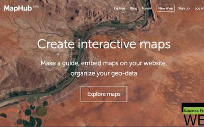 Sitio del día: MapHub, una plataforma para crear mapas personalizados