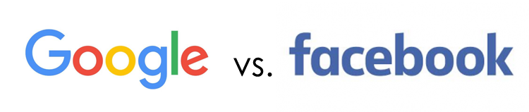 Anuncios de Facebook contra Google AdWords